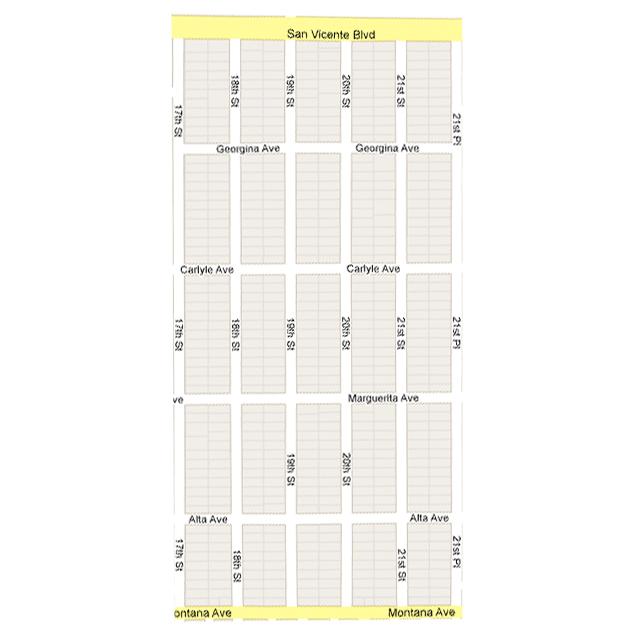 Gillette Regent Square Map1 Gillette Regent Square